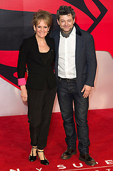 © Licensed to London News Pictures. 22/03/2016. LORRAINE ASHBOURNE and ANDY SERKIS attend the Batman V Superman: Dawn of Justice European film premiere. The film is based on the DC Comics characters. London, UK. Photo credit: Ray Tang/LNP