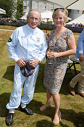SIR JACKIE STEWART and the COUNTESS OF MARCH at the Cartier 'Style et Luxe' part of the Goodwood Festival of Speed, Goodwood House, West Sussex on 14th July 2013.