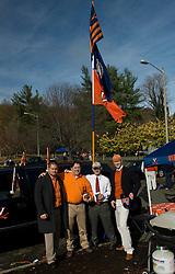 November 14, 2009; Charlottesville, VA, USA;  before the game at Scott Stadium.  Mandatory Credit: Jason O. Watson-US PRESSWIRE