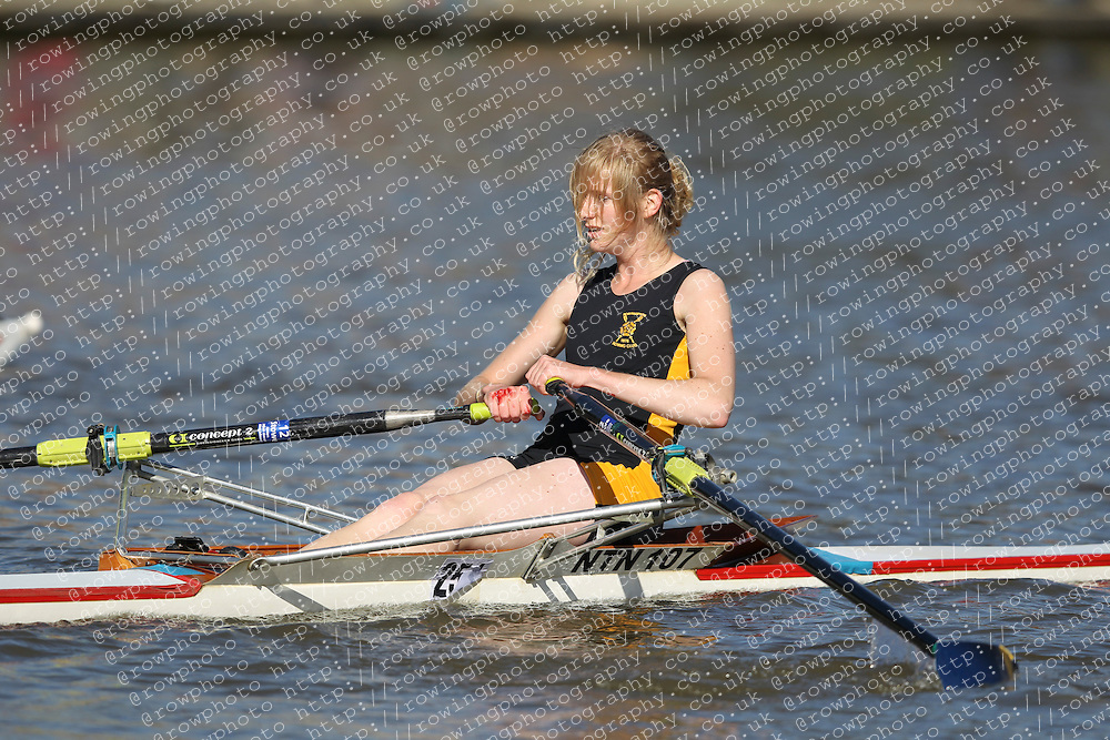 29.09.2012. Wallingford Long Distance Sculls 2012, The River Thames. Division 1. W.IM2 1x. Northampton Rowing Club.