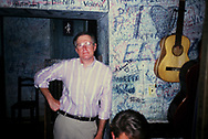 Dennis Brack at  El Floridita Bar in Havana Cuba, April 2, 1989<br /> <br /> by Dennis Brack