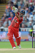 Ashwell Prince during the NatWest T20 Blast final match between Northants Steelbacks and Lancashire Lightning at Edgbaston, Birmingham, United Kingdom on 29 August 2015. Photo by David Vokes.