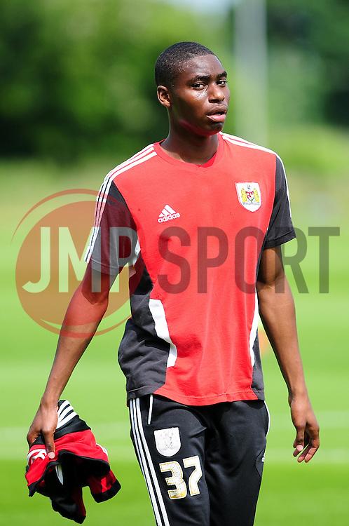 Bristol City's new signing Jordan Wynter - Photo mandatory by-line: Dougie Allward/JMP - Tel: Mobile: 07966 386802 27/06/2013 - SPORT - FOOTBALL - Bristol -  Bristol City - Pre Season Training - Npower League One