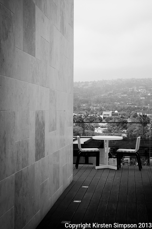 On the Roodtop at the Thompson Hotel Beverly Hills