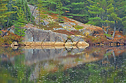 Reflection in the Vermilion River in the Sudbury District flows into Lake Huron<br />
