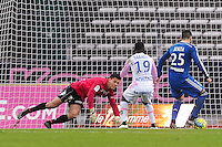 Goal Yassine BENZIA - 07.12.2014 - Evian Thonon / Lyon - 17eme journee de Ligue 1 -<br />