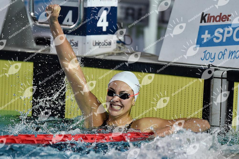 Martina Carraro Azzurra91<br /> 100 rana donne<br /> Stadio del Nuoto Riccione<br /> Campionati Italiani Nazionali Assoluti Nuoto Primaverili Fin <br /> Riccione Italy 23-04-2016<br /> Photo &copy; Andrea Staccioli/Deepbluemedia/Insidefoto