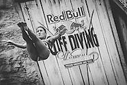Red Bull Cliff Diving at Hells Gate Possum Kingdom Lake , TX