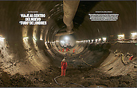 The new London tube called Crossrail is partly built by a Spanish company (Ferrovial). Ferrovial is building the Farringdon part of Crossrail.
