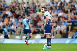 Matthew Bloomfield of Wycombe Wanderers cuts a dejected figure - Mandatory by-line: Dougie Allward/JMP - 21/04/2018 - FOOTBALL - Adam's Park - High Wycombe, England - Wycombe Wanderers v Accrington Stanley - Sky Bet League Two
