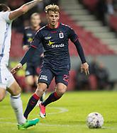FODBOLD: Benjamin Hvidt (AGF) under kvartfinalen i DBU Pokalen mellem FC København og AGF den 7. april 2017 i Telia Parken, København. Foto: Claus Birch