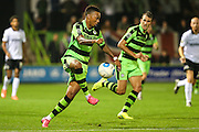 Forest Green Rovers Keanu Marsh-Brown (7) controls the ball during the Vanarama National League match between Forest Green Rovers and Eastleigh at the New Lawn, Forest Green, United Kingdom on 13 September 2016. Photo by Shane Healey.