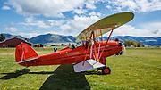 1929 Brunner Winkle Bird A, owned earlier by Melba Beard - charter member of the 99s - then inherited by Arlene Beard, taxiing.