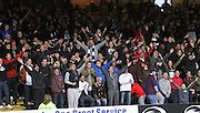 Dundee fans celebrate David Clarkson goal -  Dundee v St Johnstone, SPFL Premiership at Dens Park<br /> <br />  - &copy; David Young - www.davidyoungphoto.co.uk - email: davidyoungphoto@gmail.com