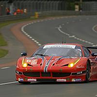 #62, Ferrari 458 Italia, Scuderia Corsa, driven by William Sweedler, Townsend Bell, Jeff Segal, 24 Heures Du Mans , 15/06/2016,