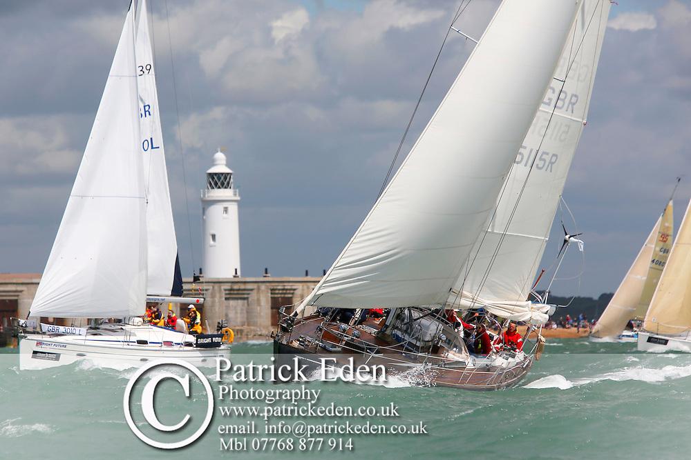 GBR 5115R Round the island Race 2016