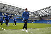 Brighton striker (on loan from Manchester United), James Wilson (21) before the Sky Bet Championship match between Brighton and Hove Albion and Birmingham City at the American Express Community Stadium, Brighton and Hove, England on 28 November 2015. Photo by Phil Duncan.