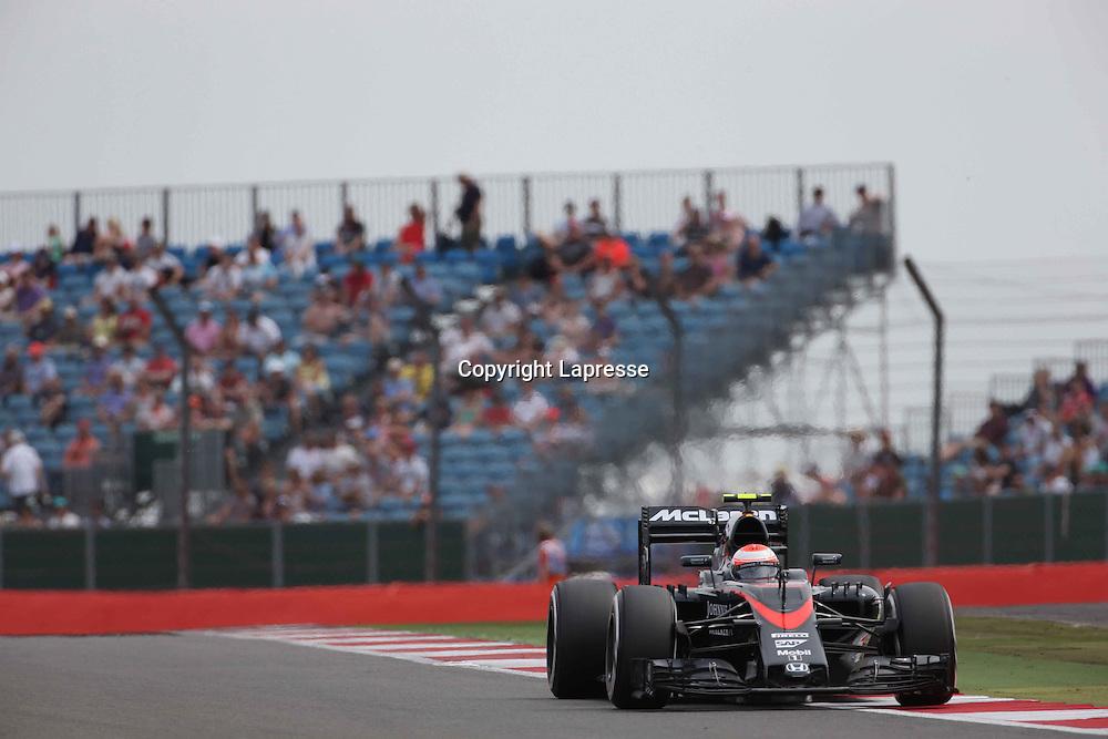 &copy; Photo4 / LaPresse<br /> 03/07/2015 Silverstone, England<br /> Sport <br /> Grand Prix Formula One England 2015<br /> In the pic: Jenson Button (GBR)  McLaren Honda MP4-30.