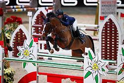 Belova Natalia, (RUS), Cosimo 48<br /> MEVISTO Amadeus Horse Indoor Salzburg<br /> © Hippo Foto - Stefan Lafrentz<br /> 11-12-2016