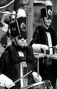 Knottingley Town Sapphires Jazz Band. 1993 Yorkshire Miner's Gala. Wakefield.