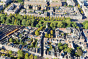 Nederland, Utrecht, Gemeente Utrecht, 30-09-2015; Zuidelijk deel van de binnenstad. Oudegracht, Geertekerk, Catharijnesingel.<br /> Southern part of downtown Utrecht city centre.<br /> luchtfoto (toeslag op standard tarieven);<br /> aerial photo (additional fee required);<br /> copyright foto/photo Siebe Swart