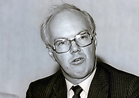 Michael Meadowcroft, MP, Liberal, UK, September, 1986, 19860920MM2<br />