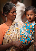 Mother and Daughter -  Chennai, India