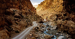 The piste through the M'Goun Gorges in M'goun Amazigh territory, Morocco<br /> <br /> (c) Andrew Wilson | Edinburgh Elite media
