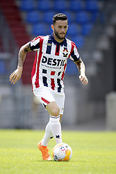 Pol Llonch during the team presentation of Willem II on July 13, 2018 at the Koning Willem II stadium in Tilburg, The Netherlands