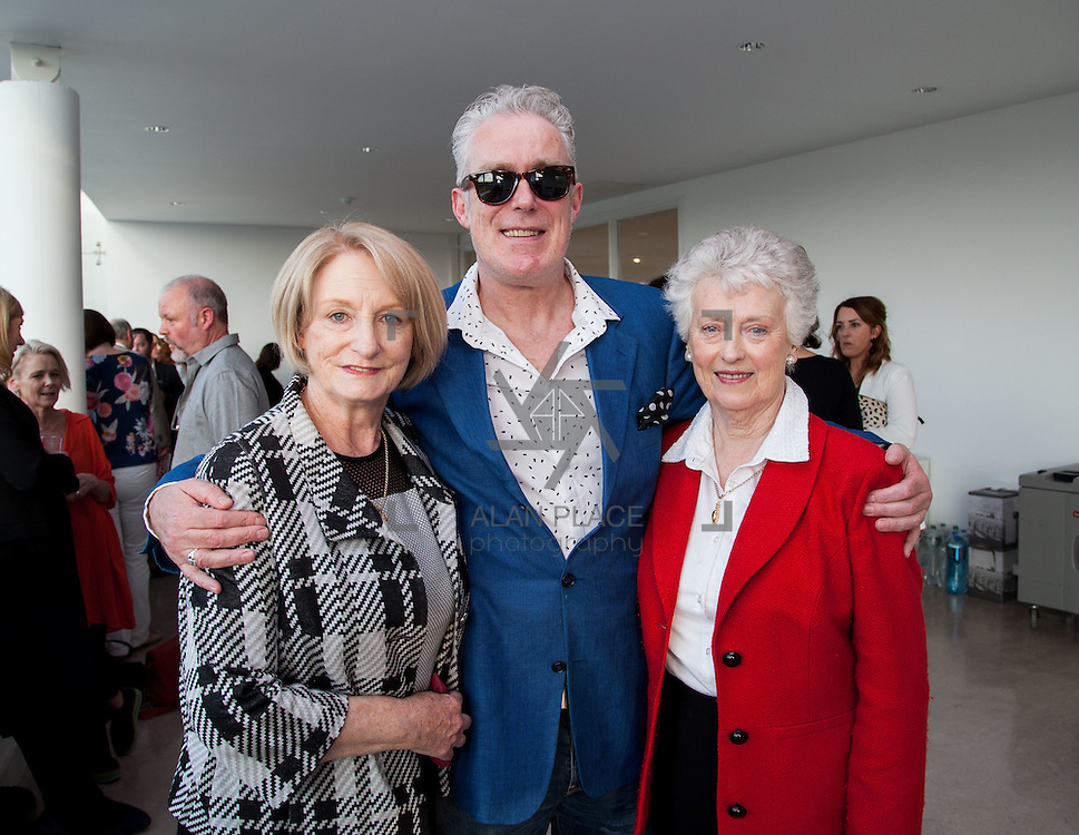 13.05.2016.           <br /> Dr. Sheila Carroll, Padraic Cullen and Brid Cullen pictured at the much anticipated Limerick School of Art & Design, LIT, (LSAD) Graduate Fashion Show on Thursday 12th May 2016. The show took place at the LSAD Gallery where 27 graduates from the largest fashion degree programme in Ireland showcased their creations. Ranked among the world's top 50 fashion colleges, Limerick School of Art and Design is continuing to mold future Irish designers.. Picture: Alan Place/Fusionshooters