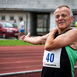 20140613: SLO, Athletics - Tek z legendo