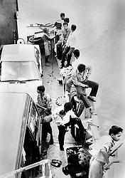 BANGLADESH COMILLA DISTRICTJAMUNA RIVER MAR94 - People relax aboard a ferry crossing the Jamuna River...jre/Photo by Jiri Rezac..© Jiri Rezac 1994