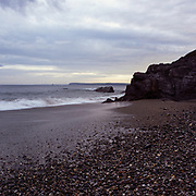Rocks, Hemmick Beach, Cornwall, 2008