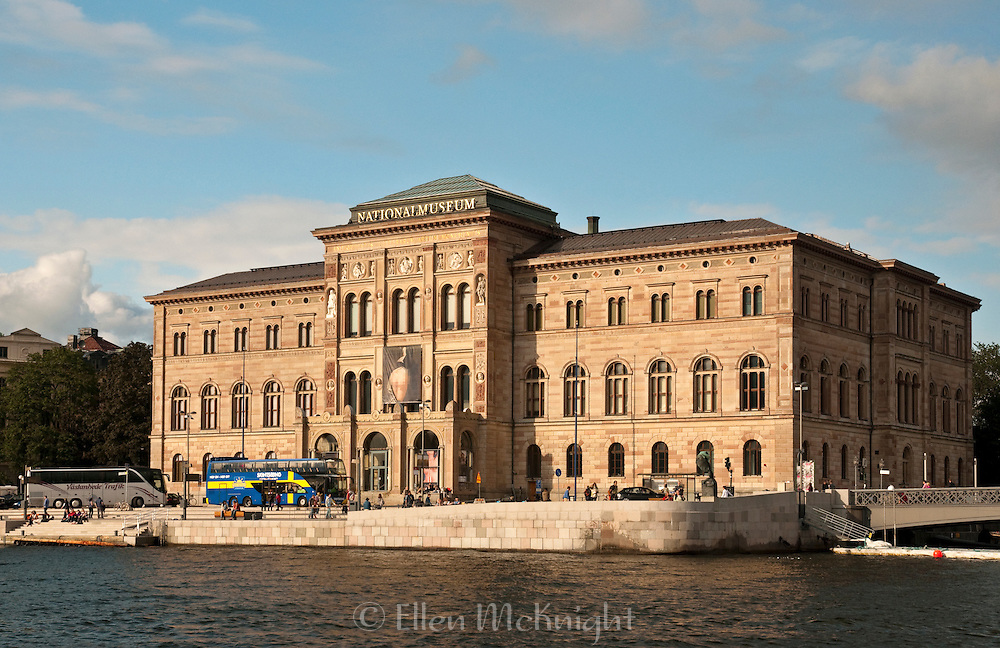 National Museum on the Southern SIde of Blasieholmen in Stockholm, Sweden