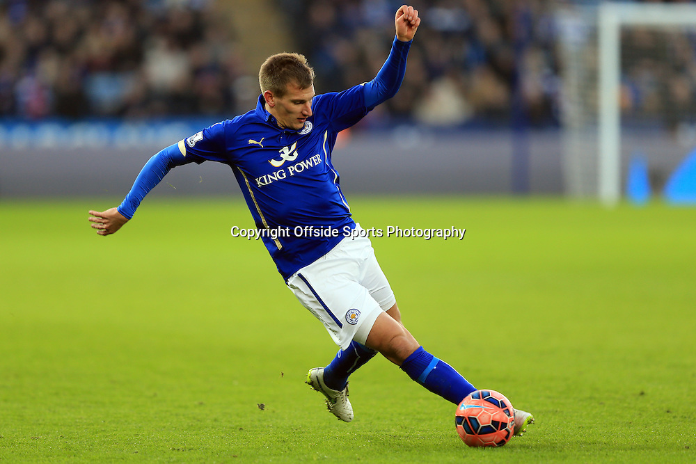 3 January 2015 - The FA Cup 3rd Round - Leicester City v Newcastle United - Marc Albrighton of Leicester City - Photo: Marc Atkins / Offside.
