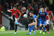 Manchester United's Andreas Pereira during the EFL Cup match between Manchester United and Rochdale at Old Trafford, Manchester, England on 25 September 2019.