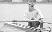 Nottingham. United Kingdom. <br /> GBR LM1X. Carl SMITH. [NCRA]<br /> Nottingham International Regatta, National Water Sport Centre, Holme Pierrepont. England<br /> <br /> 31.05.1986 to 01.06.1986<br /> <br /> [Mandatory Credit: Peter SPURRIER/Intersport images] 1986 Nottingham International Regatta, Nottingham. UK
