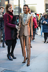 December 12, 2019, New York, NEW YORK, ESTADOS UNIDOS: Miss Universe, Zozibini Tunzi is seen on Manhattan Island in New York this Thursday, December 12 (Credit Image: © Vanessa Carvalho/ZUMA Wire)