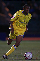 Fabian Delph (Leeds United)<br /> Brighton and Hove Albion vs Leeds United at the Withdean Stadium Brighton. Coca Cola Football League One. 17/01/2009<br /> Credit Colorsport / Shaun Boggust