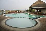 Uganda, A lodge on the shores of Lake George