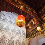 Inside Khoo Kongsi Clan House in the World Heritage Site of Georgetown on Penang Island