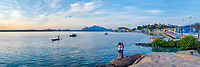Brasil - ES - Vitoria - Vista panoramica da ilha das Caieiras. Foto: David Protti