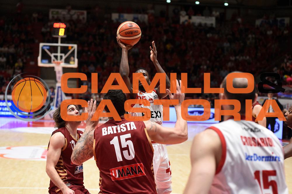 Moore Ronald<br /> The Flexx Pistoia - Umana Venezia<br /> Playoff gara 3<br /> Legabasket A 2016/2017<br /> pistoia17/05/2017<br /> Foto Ciamillo-Castoria
