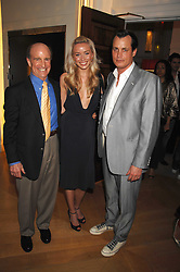 Left to right, DON RENO, his daughter NOEL RENO and MATTHEW MELLON at a preview of Garrard's new collections and celebrates a Kaleidoscope of Colour at Garrard, 24 Albemarle Street, London on 10th May 2007.<br /><br />NON EXCLUSIVE - WORLD RIGHTS