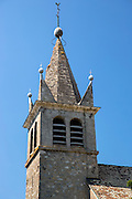 Church, Eglise de St Martin at Nernier by Lake Geneva, France