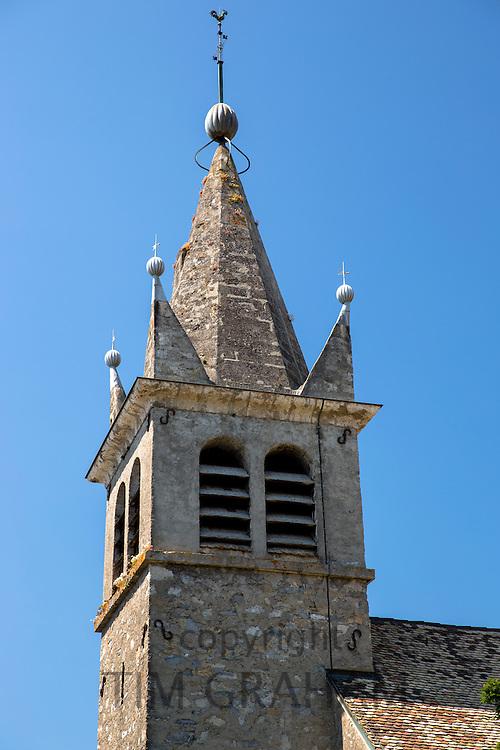 Church, Eglise de St Martin at Nernier by Lake Geneva, France