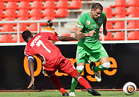 FOOTBALL - AFRICAN NATIONS CUP 2010 - GROUP A - MALAWI v ALGERIA - 11/01/2010 - PHOTO MOHAMED KADRI / DPPI - ABDELKADER GHEZZAL (ALG) / PETER MPONDA (MAL)