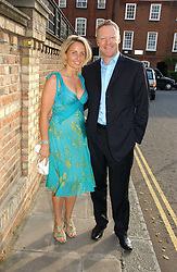 RORY BREMNER and his wife TESSA at Sir David & Lady Carina Frost's annual summer party held in Carlyle Square, Chelsea, London on 5th July 2006.<br />