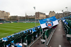 A general view of Bath Rugby colours at the Rec - Mandatory byline: Patrick Khachfe/JMP - 07966 386802 - 08/12/2018 - RUGBY UNION - The Recreation Ground - Bath, England - Bath Rugby v Leinster Rugby - Heineken Champions Cup