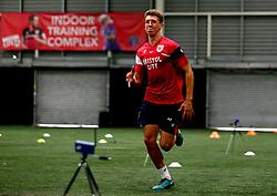 Aaron Parsons sprints Bristol City Under 23's return to training with fitness testing ahead of the 2017/18 season - Mandatory by-line: Robbie Stephenson/JMP - 30/06/2017 - FOOTBALL - SGS Wise Campus - Bristol, United Kingdom - Bristol City Under 23's Fitness Tests